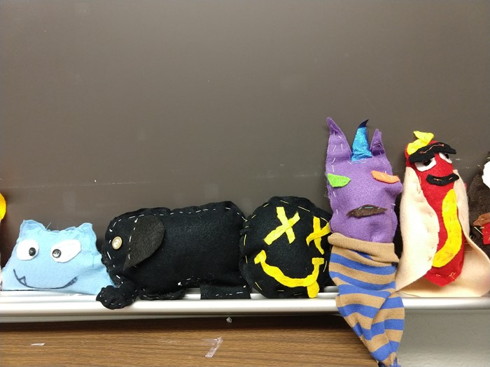 Creative Critter designed by fifth grade students in Ms Henry's class.
